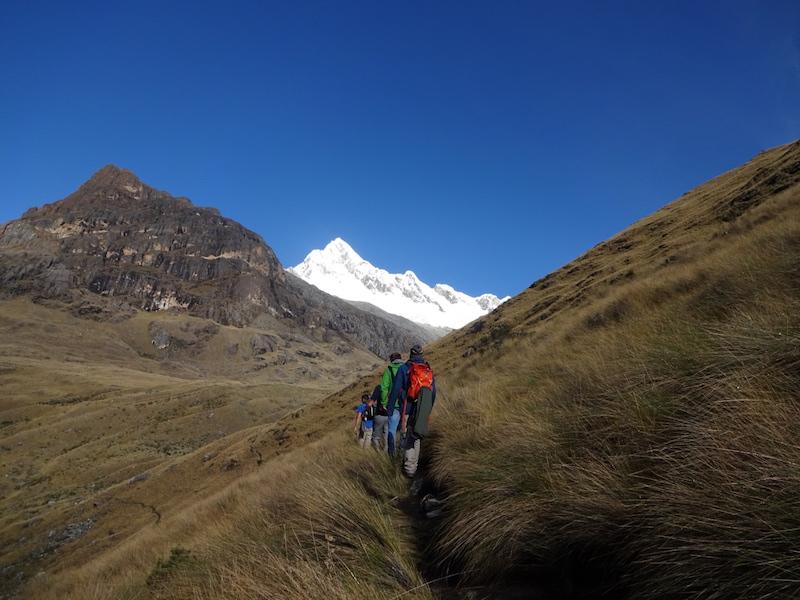 Santa Cruz Trek & 3 Peaks in Ishinca Valley   AndinoTrek