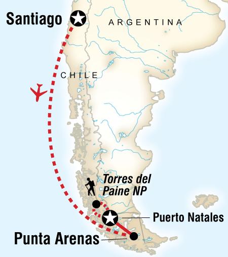 Torres Del Paine Trekking Holidays Andinotrek Huaraz Peru