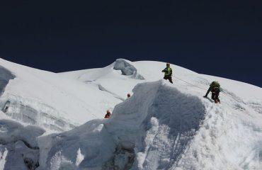 Vallunaraju Climb