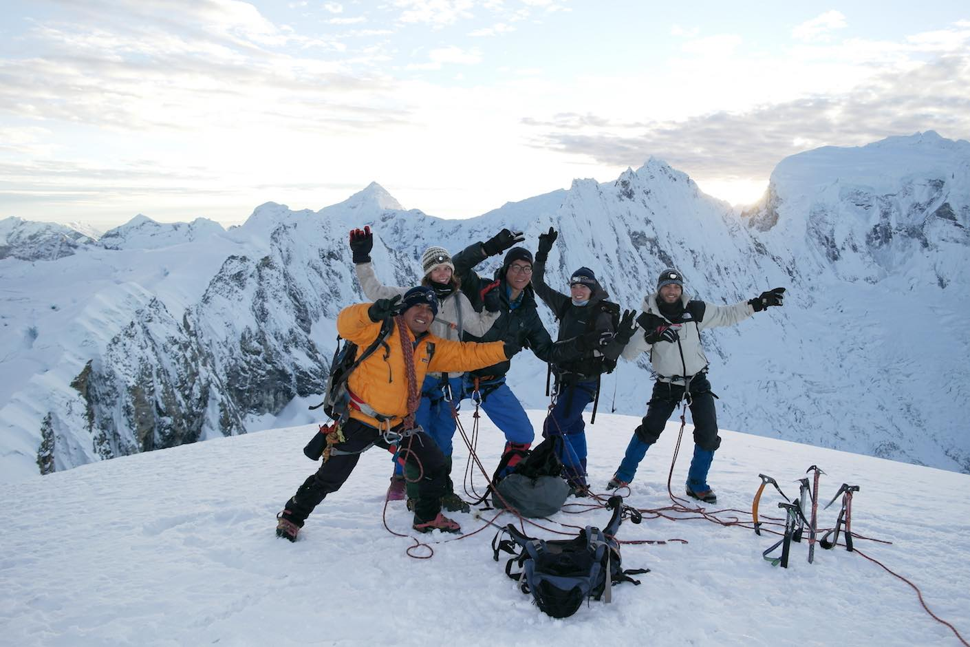 Beginners Mountaineering Course